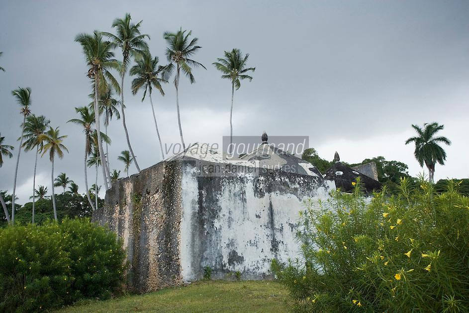 Afrique/Afrique de l'Est/Tanzanie/Zanzibar/Ile Unguja/Stone Town: le vieux fort