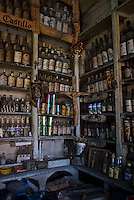 Vinateria (liquor store) La Guadalupana in the Tepito neighbourhood of Mexico City September 18