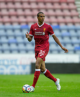 Joel Matip of Liverpool during the pre season friendly match between Wigan Athletic and Liverpool at the DW Stadium, Wigan, England on 14 July 2017. Photo by Andy Rowland.