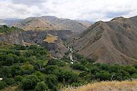 Armenian landscape near Garni