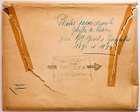 Europe/Europe/France/Midi-Pyrénées/46/Lot/Padirac: Gouffre de Padirac _ Enveloppe contenant l'album de photographies du Gouffre de Padirac - d'Edouard-Alfred Martel - Années 1890 à 1899 - Collection Société du Gouffre de Padirac  -Reproduction - Autorisation nécessaire
