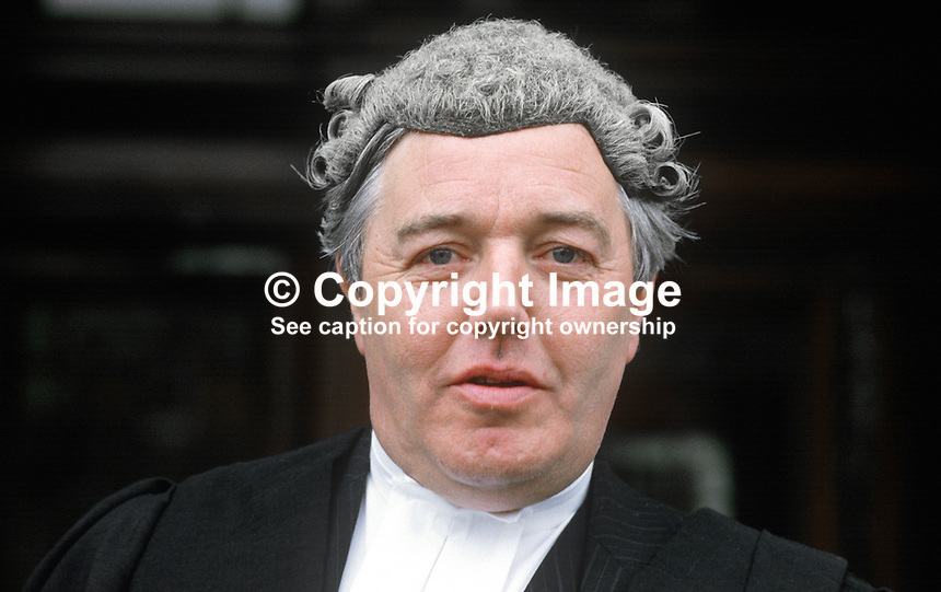 Patrick McEntee, barrister, Rep of Ireland, on the occasion of his being called to the Northern Ireland Bar. 19840084PME1.<br />
