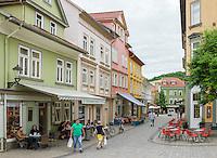 Germany, Free State of Thuringia, Arnstadt: at town centre | Deutschland, Freistaat Thueringen, Arnstadt (auch Bachstadt Arnstadt bezeichnet): im Stadtzentrum