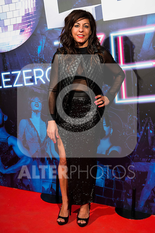 Cristina Medina attends to the premiere of the The Hole Zero Show at Teatro Calderon in Madrid. October 04, 2016. (ALTERPHOTOS/Borja B.Hojas)