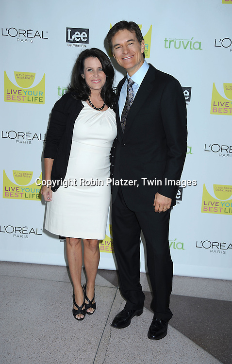 "Lisa and Dr Mehmet Oz arriving at O, The Oprah Magazine's  Celebration of  it's 10th Anniversay at the ""Live Your Best Life"" event at The Jacob Javits Center on May 8, 2010."