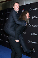 """LOS ANGELES - MAR 22:  Chris Hardwick, Ryan Hurst at the PaleyFest - """"The Walking Dead"""" Event at the Dolby Theater on March 22, 2019 in Los Angeles, CA"""