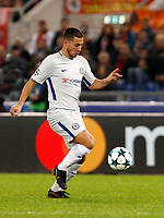 Chelsea s Eden Hazard in action during the Champions League Group C soccer match between Roma and Chelsea at Rome's Olympic stadium, October 31, 2017.<br /> UPDATE IMAGES PRESS/Riccardo De Luca
