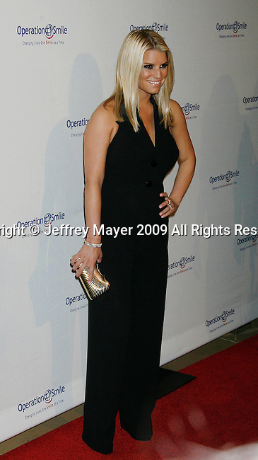 BEVERLY HILLS, CA. - October 02: Jessica Simpson  arrives at Operation Smile's 8th Annual Smile Gala at the Beverly Hilton Hotel on October 2, 2009 in Beverly Hills, California.