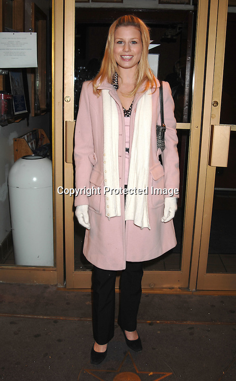 """Stephanie Gatschet..at The Workshop Theatre Company """"Daytime at Nightime 2006""""  Benefit on October 23, 2006 at The Lucille Lortel Theatre. ..Robin Platzer, Twin Images"""
