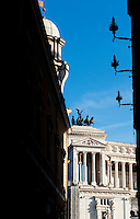 Il Vittoriano in Piazza Venezia, to commemorate Italian unity, Rome, Italy