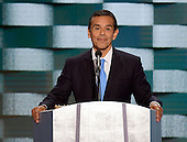 Former Mayor Antonio Villaraigosa (Democrat of Los Angeles, California) makes remarks during the fourth session of the 2016 Democratic National Convention at the Wells Fargo Center in Philadelphia, Pennsylvania on Thursday, July 28, 2016.<br /> Credit: Ron Sachs / CNP<br /> (RESTRICTION: NO New York or New Jersey Newspapers or newspapers within a 75 mile radius of New York City)