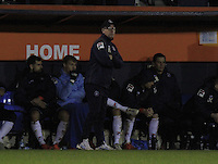 Luton Town caretaker manager Andy Awford watches on during the Sky Bet League 2 match between Luton Town and Wycombe Wanderers at Kenilworth Road, Luton, England on 26 December 2015. Photo by Liam Smith.