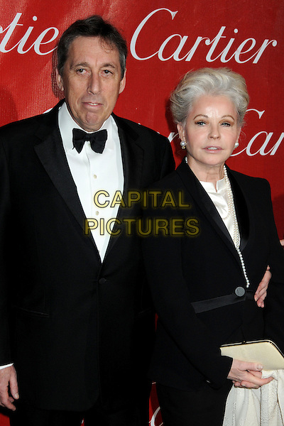 IVAN REITMAN & wife GENEVIEVE.Palm Springs International Film Festival Awards Gala 2010 held at the Palm Springs Convention Center, Palm Springs, California, USA, .5th January 2010..half length tux tuxedo black bow tie .CAP/ADM/BP.©Byron Purvis/AdMedia/Capital Pictures.