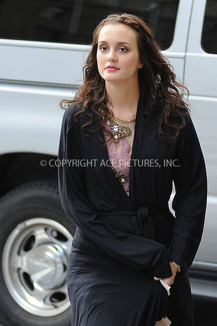 WWW.ACEPIXS.COM . . . . . .August 10, 2011, New York City....Actress Leighton Meester on the Upper West Side set of the TV show 'Gossip Girl' on August 10, 2011 in New York City in New York City....Please byline: KRISTIN CALLAHAN - ACEPIXS.COM.. . . . . . ..Ace Pictures, Inc: ..tel: (212) 243 8787 or (646) 769 0430..e-mail: info@acepixs.com..web: http://www.acepixs.com .
