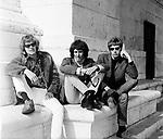 Walker Brothers 1966  at Arc de Triomphe in Paris. John Walker, Gary Walker and Scott Walker