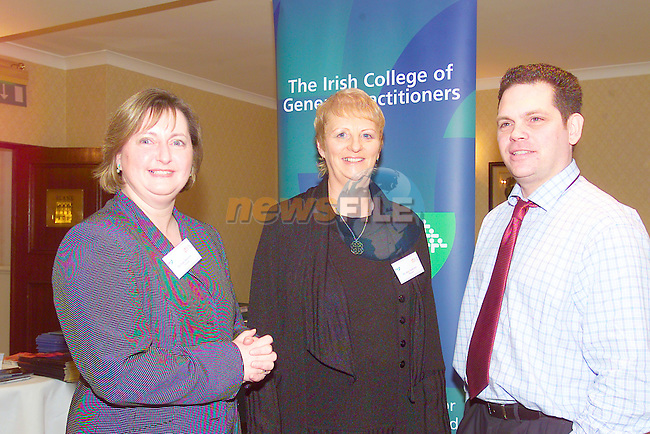 Kate Mulvenna, Mary McKeown and Billy Standish at the conference in the Nuremore Hotel held by the NEHB.Photo Fran Caffrey/Newsfile.ie..This picture has been sent to you by:.Newsfile Ltd,.3 The View,.Millmount Abbey,.Drogheda,.Co Meath..Ireland..Tel: +353-41-9871240.Fax: +353-41-9871260.GSM: +353-86-2500958.ISDN: +353-41-9871010.IP: 193.120.102.198.www.newsfile.ie..email: pictures@newsfile.ie..This picture has been sent by Fran Caffrey.francaffrey@newsfile.ie