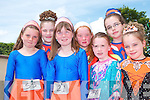 Young dancers who took part in the feile cheoil in Lixnaw on Saturday pictured front l-r Sarah Quirke, Keyleigh Fitzmaurice, Tralee, Ciara Hunt Athea and Aoife Cronin Firies.  Back l-r Nicole Kane, Tralee,   Mary Ann White, Ballyduff and Onagh Kelliher, Tralee...   Copyright Kerry's Eye 2008