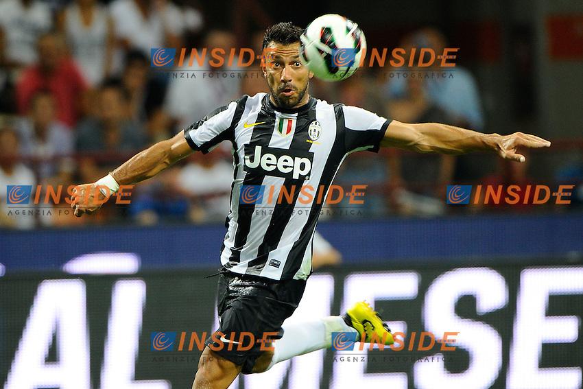 "Fabio Quagliarella Juventus.Milano 19/8/2012 Stadio ""Giuseppe Meazza San Sito"".Trofeo ""Luigi Berlusconi"".Foto Insidefoto"