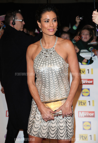 Melanie Sykes arriving for the 2012 Pride of Britain Awards, at the Grosvenor House Hotel, London. 29/10/2012 Picture by: Alexandra Glen / Featureflash