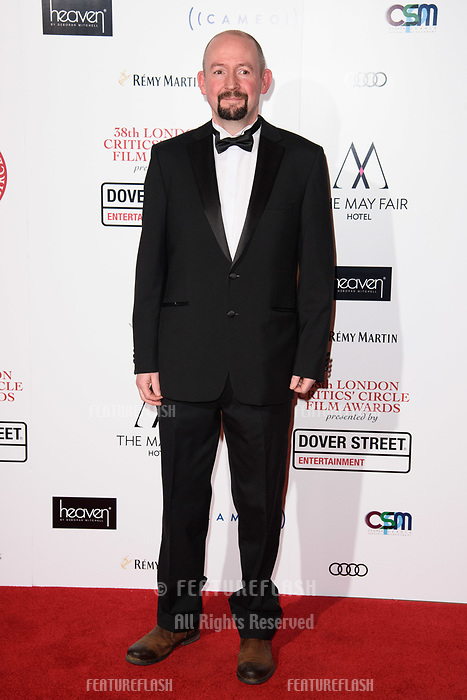 Felix Gill at the 38th Annual London Critics' Circle Film Awards at the Mayfair Hotel, London, UK. <br /> 28 January  2018<br /> Picture: Steve Vas/Featureflash/SilverHub 0208 004 5359 sales@silverhubmedia.com