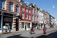 Winkelstraat in het centrum van Roermond