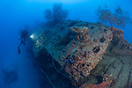 The wrecks of Truk Lagoon: the i169 submarine