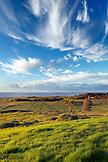 EASTER ISLAND, CHILE, Isla de Pascua, Rapa Nui island landscape