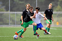 Football National Age Group Tournament at Petone Memorial Park, Lower Hutt, New Zealand on Friday 15 December 2017. <br /> Photo by Masanori Udagawa. <br /> www.photowellington.photoshelter.com