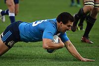 Tommaso Boni of Italy makes a try Meta Italia <br /> Roma 12/11/2016, Stadio Olimpico<br /> Test Match 2016 <br /> Italia vs All Blacks - Italy vs All Black (New Zeland)<br /> Foto Andrea Staccioli Insidefoto