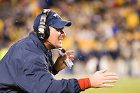 16 November 2006: Rich Rodriguez..The West Virginia Mountaineers defeated the Pitt Panthers 45-27 on November 16, 2006 at Heinz Field, Pittsburgh, Pennsylvania.