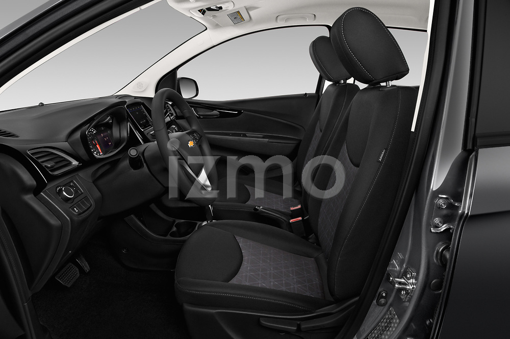 Front seat view of a 2019 Chevrolet Spark 1LT 5 Door Hatchback front seat car photos