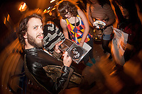 LANSING, MI - SEPTEMBER 24: Foxy Shazam performing at The Loft in Lansing, Michigan on September 24, 2012. © Joe Gall/MediaPunch Inc. /NortePhoto.com