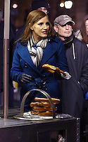 www.acepixs.com<br /> <br /> January 31 2017, New York City<br /> <br /> Actress Jessica Chastain was on the midtown Manhattan set of the new movie 'Molly's Game' on January 31 2017 in New York City<br /> <br /> By Line: Zelig Shaul/ACE Pictures<br /> <br /> <br /> ACE Pictures Inc<br /> Tel: 6467670430<br /> Email: info@acepixs.com<br /> www.acepixs.com