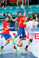 Spain v Croatia 23rd Men's Handball World Championship. Preliminary round match.