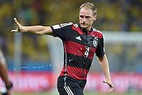 FUSSBALL WM 2014                HALBFINALE Brasilien - Deutschland          08.07.2014 Benedikt Hoewedes (Deutschland)