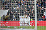 Real Madrid team during La Liga match. Jan 18, 2020. (ALTERPHOTOS/Manu R.B.)