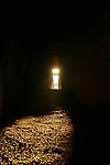 The winter solstice at newgrange in Co Meath, where the sun shines through a roof box to light up the burial chamber..Photo: Newsfile/Fran Caffrey.