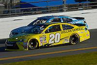 12-13 February, 2016, Daytona Beach, Florida, USA<br /> Matt Kenseth, Dollar General Toyota Camry<br /> ©2016, F. Peirce Williams