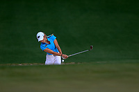 Sierra Brooks (USA) on the 2nd during the final round at the Augusta National Womans Amateur 2019, Augusta National, Augusta, Georgia, USA. 06/04/2019.<br /> Picture Fran Caffrey / Golffile.ie<br /> <br /> All photo usage must carry mandatory copyright credit (&copy; Golffile | Fran Caffrey)
