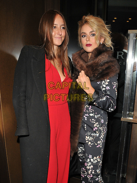guest and Tallia Storm at the Glass Magazine 7th Anniversary Dinner, Bulgari Hotel, Knightsbridge, London, England, UK, on Wednesday 25 January 2017.<br /> CAP/CAN<br /> &copy;CAN/Capital Pictures