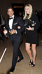 Rob Lowe and his wife Sheryl Berkoff<br /> <br /> <br /> <br />  leaving The 2014 Golden Globes held at The Beverly Hilton Hotel in Beverly Hills, California on January 12,2014                                                                               &copy; 2014 Hollywood Press Agency