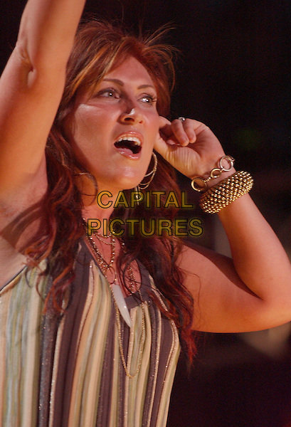 JO DEE MESSINA.2007 CMA Music Festival held at LP Field,Nashville, Tennessee, USA, 09  June 2007..half lenth live on stage concert country performing .CAP/ADM/LF.©Laura Farr/AdMedia/Capital Pictures.
