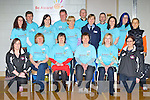 The Be Aware Prevent Suicide team that organised the Mental Health Wellness open day in the Killarney Sports Centre on Sunday front row l-r: Catriona Locke, Breda Joy, Deirdre Fee, Anne Boland, Mary Collier, Mai Harris. Back row: Deirdre Fleming, Donal Clifford, Mairead Ni Mhaolain, Tom Leslie, Breda O'Connor, Denis Courtney, Sargant Miriam Mulhall-Nolan, Paul Kennedy, Geraldine Sheehy, Bernie Moore and Susan Fitzgerald..