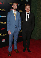 04 January 2019 - West Hollywood California - Bryan Woods, Scott Beck. 8th AACTA International Awards held at Skybar at Mondrian Los Angeles.         <br /> CAP/ADM/FS<br /> ©FS/ADM/Capital Pictures