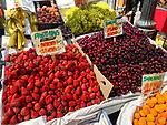 Fruit In Santiago Market