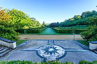 France, Loir-et-Cher (41), Cellettes, Château de Beauregard et le parc, Jardin des Portraits imaginé par Gilles Clément