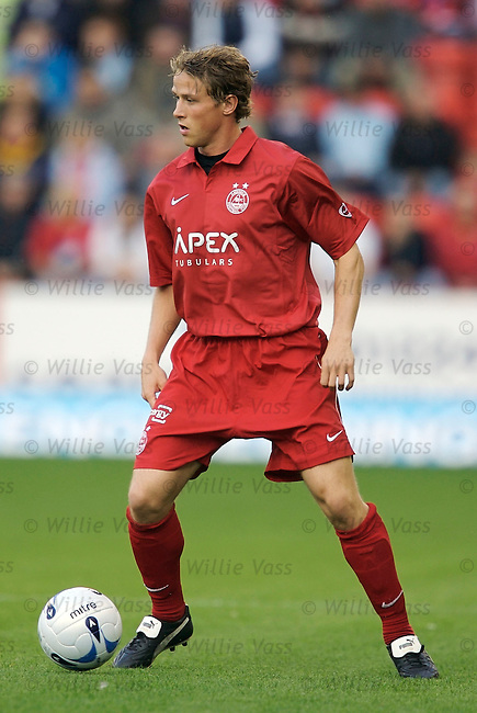 Chris Clark, Aberdeen.stock season 2006-2007.pic willie vass