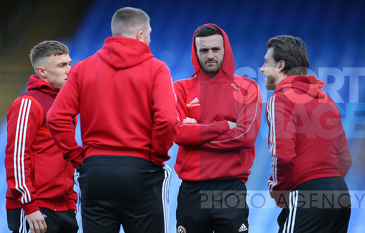 Sheffield United's Jack Robinson during the Premier League match at Selhurst Park, London. Picture date: 1st February 2020. Picture credit should read: Paul Terry/Sportimage