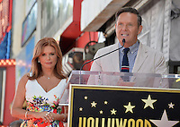 LOS ANGELES, CA. August 11, 2016: Roma Downey &amp; husband producer Mark Burnett at Hollywood Walk of Fame Star ceremony for actress Roma Downey. <br /> Picture: Paul Smith / Featureflash