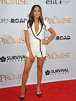 www.acepixs.com<br /> <br /> April 12 2017, LA<br /> <br /> Dania Ramirez arriving at the premiere of 'The Promise' on April 12, 2017 in Hollywood, California<br /> <br /> By Line: Peter West/ACE Pictures<br /> <br /> <br /> ACE Pictures Inc<br /> Tel: 6467670430<br /> Email: info@acepixs.com<br /> www.acepixs.com